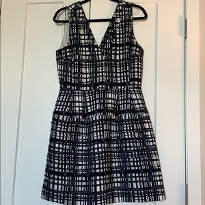 Madewell patterned dress